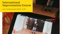 International Improvisation Course - EYT Blegium