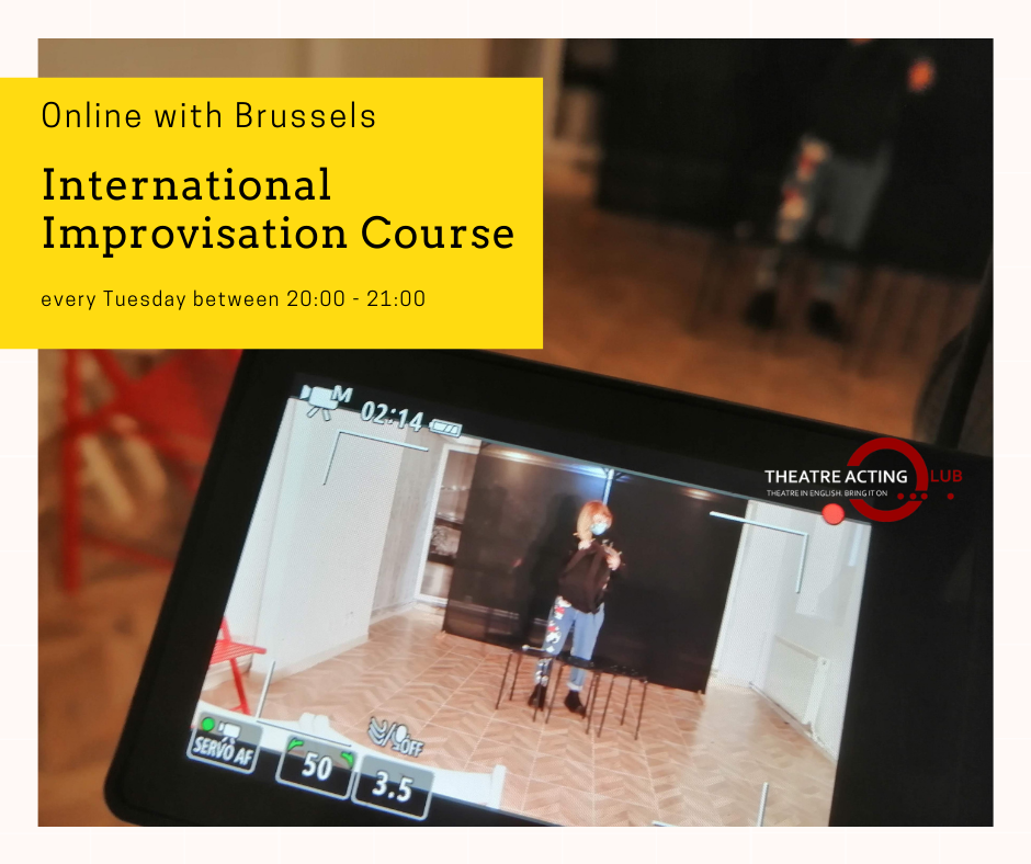 International Improvisation Course for Teens – Online with Brussels