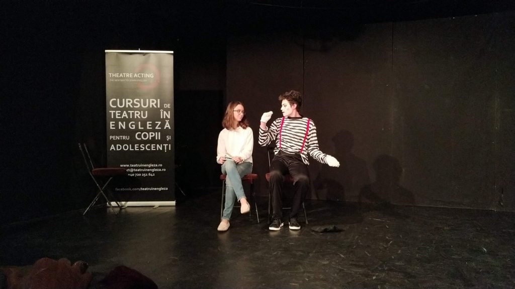 Theatre in English courses for children